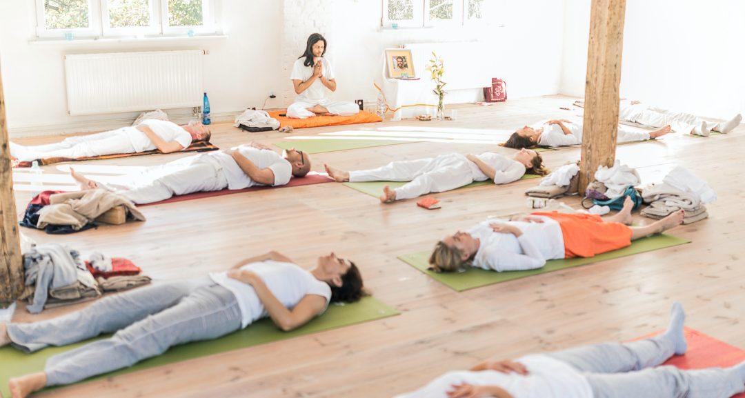 Début Formation Shri Vivek Yoga – Stage 1
