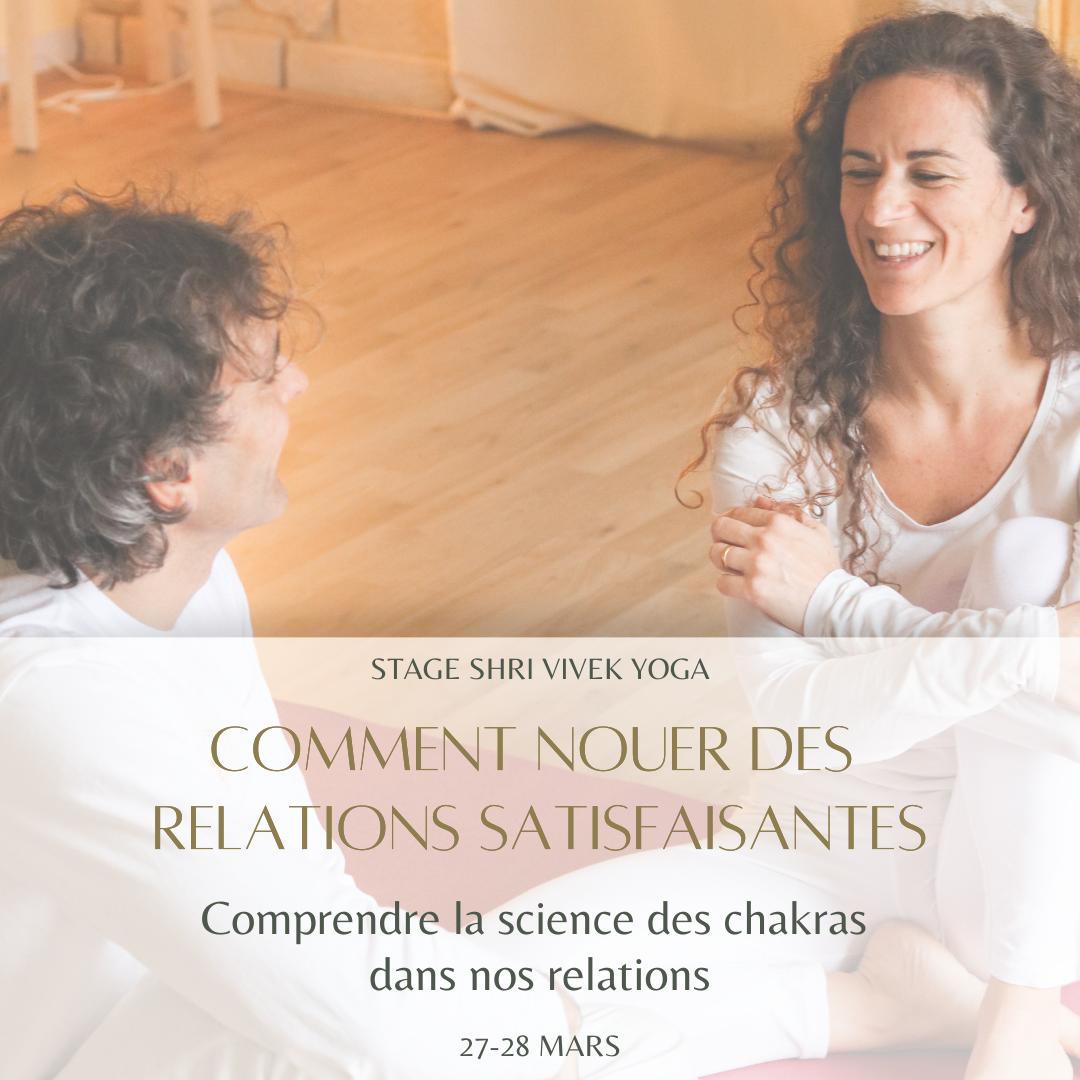 NOUER DES RELATIONS SATISFAISANTES